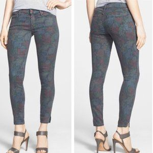 MOTHER The Vamp Ghosts and Roses Skinny Jeans {O4}